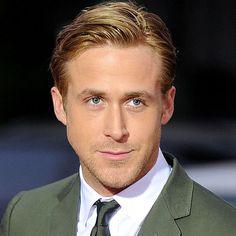 Ryan Gosling Comb Over