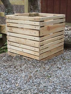 scrap wood planters