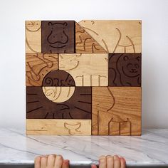 """We're pleased to reveal our newest addition, """"Aminal"""" Blocks! Inspired by…"""