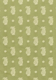 WHARTON PAISLEY, Green, W74135, Collection Richmond from Thibaut