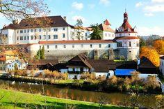 Castillo de Jindrichuv Hradec, Sur de Bohemia.