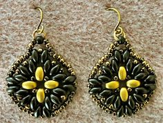 Linda's Crafty Inspirations: Maya Earrings
