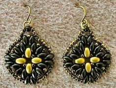 Linda's Crafty Inspirations: Maya Earrings