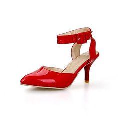 Dew Stiletto - Kunstleder - FRAUEN Spitze Zehe - Pumps / High Heels ( Rot/Gold/Beige ) - http://on-line-kaufen.de/dew-hohe-fersen/dew-stiletto-kunstleder-frauen-spitze-zehe-pumps-4