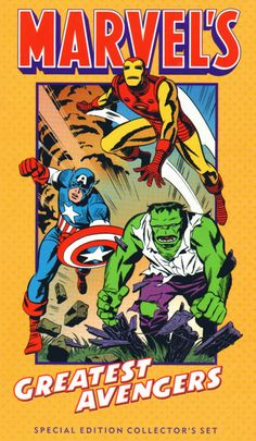 Marvel Superheroes: Special Edition Collector's Sets (VHS) Featuring Animated Episodes Of Marvel Super Heroes / Spider-Man Art by Steve Rude Marvel Avengers Comics, Marvel Comic Universe, Avengers Age, Marvel Comic Books, Marvel Dc Comics, Marvel Heroes, Marvel Characters, Comic Books Art, Comic Art
