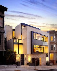 Contemporary apartment design exterior apartment design exterior and Luxury Homes Exterior, Design Exterior, Modern Exterior, Exterior Colors, Ultra Modern Homes, Luxury Modern Homes, Modern Mansion, Zeitgenössisches Apartment, Apartment Design