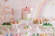 Pastel Rainbow Fairy Themed Party