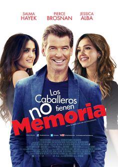 """Para los actores latinos las comedias románticas han sido su escaparate para entrar la complicado mundo de Hollywood, dos estrellas consolidadas protagonizan esta película, Jessica Alba y Salma Hayek en: """"Los caballeros no tienen memoria""""."""