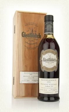 Glenfiddich 1958 Private Vintage