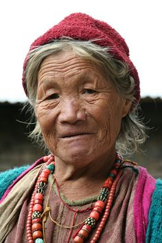 Monpa woman_6 by Yilud, via Flickr