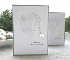 Christmas Paper Crafts, Diy Christmas Cards, Stampin Up Christmas, Xmas Cards, Christmas Greetings, Handmade Christmas, Men's Cards, Christmas 2017, Stampin Up Weihnachten