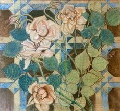 Design for painting decoration in the chancel and transpet of the Franciscan church in Krakow. Design, World Art, Culture Art, Painting, Art Nouveau, Art