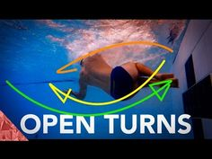 Open turn technique | Breastroke turn | Butterfly turn | Individual Medley turns - YouTube