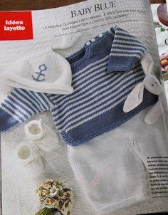 Baby blue, Marie Claire Idées no 37