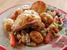 Chicken Fennel Bake recipe from Ree Drummond via Food Network (Season 12 -- Simple Meals)