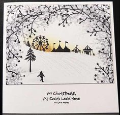 Card-io Majestix Cards For TV Show September 2016 Fall Cards, Winter Cards, Christmas Cards, Cardio Cards, Art Impressions Stamps, Fabric Cards, Card Io, Create And Craft, Greeting Cards Handmade