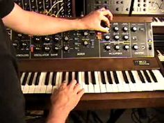 Marc Doty of Bob Moog Foundation shows capabilities of the Minimoog in this video from his AutomaticGainsay YouTube channel.