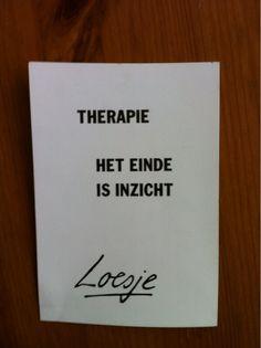 Loesje: therapie ......