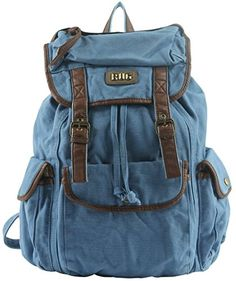 AM LANDENTop Quality BUG Unisex Multipurpose Canvas Backpacks BLUE ** This is an Amazon Affiliate link. Want additional info? Click on the image.