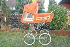 Vintage-Puppenwagen-Nostalgie-70-er-Jahre
