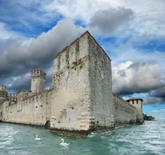 One of Italy's most beautiful castles, on Lake Garda
