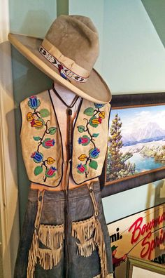 Authentic vintage Western Americana