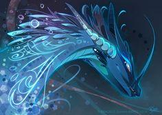 Water Dragon Style by Dragibuz.deviantart.com on @DeviantArt