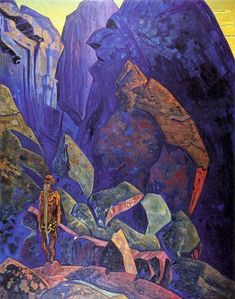 Roerich Paintings | title ecstasy artist nicholas roerich country of origin russia date of ...