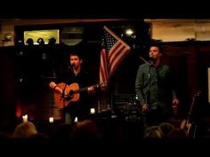 """Acoustic by Candlelight: Neil Byrne and Ryan Kelly  """" Brown Eyed Girl"""" 5-21-2012 .MOV"""