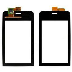 Màn hình cảm ứng mới cho asha308 màn hình cảm ứng digitizer asha 308 nokia n308 touch panel màn hình cảm biến kính phía trước thay thế + 3 m băng
