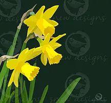 Spring Daffodils   snewdesigns   Digital