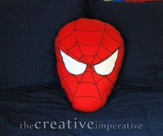 Spiderman Pillow - Free Sewing Tutorial
