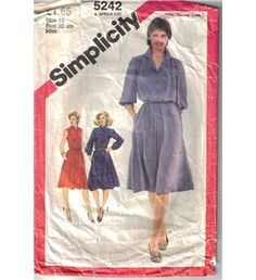 Simplicity Dress Sewing Pattern 5242