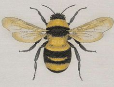 Bumble Bee Woven Square by Square by Design Bee Painting, Painting & Drawing, Bee Fabric, Woven Fabric, Bee Drawing, Diy Sewing Projects, Sewing Crafts, Bee Crafts, Fabric Squares