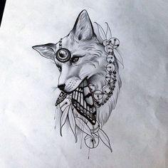 Doodle Tattoo, Mandala Tattoo, Love Tattoos, Body Art Tattoos, Tattoos For Guys, Tatoos, Tattoo Sketches, Tattoo Drawings, Lechuza Tattoo