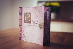 Fairy tale Wedding Invitation Booklet | Fairy Story Invite in a Book | Vintage Design with Fairytales Invite | Once Upon a Time Wedding |