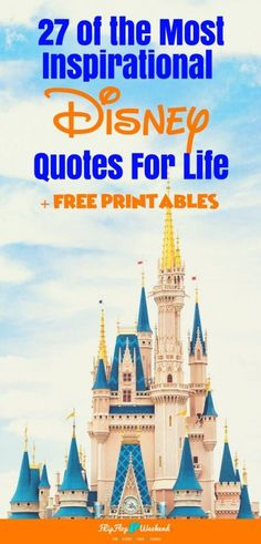 This post features 27 of my favorite Disney movie quotes about life, love and friendship. You can even access free printables of each one. Disney Crafts, Disney Fun, Disney Magic, Walt Disney, Disney Souvenirs, Disney Trips, Disney Travel, Isle Of Man, Most Popular Disney Movies