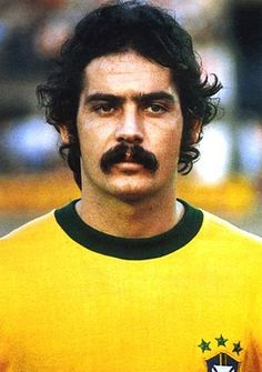 Brazilian midfielder Roberto Rivelino was part of the legendary 1970 World Cup-winning team, which many consider to be the best of all time. Famous for his free kicks and superb technique, Rivelino was also known for a seriously bushy mustache.