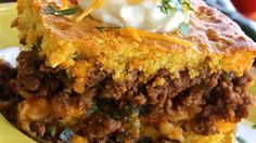 While this tamale pie has very little to do with its south-of-the-border namesake, it's a really delicious recipe all the same.
