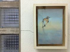 Gerda Ten Thije, Paapje, 2011  pastel, potlood, kleurpotlood en stift op papier 21 x 15 cm coderood.co 27 juni 2015