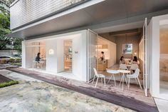 *광저우 카페 및 코워킹 건물-[ Lukstudio ] Guangzhou coffee shop and co-working space :: 5osA: [오사]