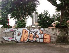 Alex Face #streetartist #streetart #artist #art