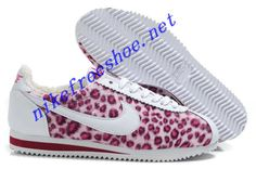 New Nike Cortez Womens Leopard Women On Feet In Red