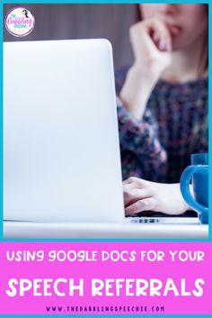 Using google docs fo