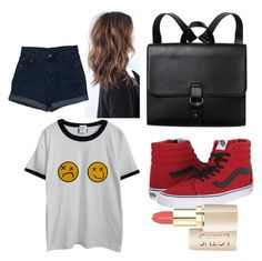 """""""Untitled #80"""" by megan-hinson ❤ liked on Polyvore featuring Chicnova Fashion, Vans and Monki"""