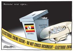 20160222bdCrimeScene - Brandan covers the Ugandan election results