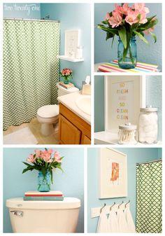 Bathroom Makeovers For Less glitter wc | details | pinterest