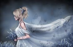 Lunafreya Nox Fleuret from Final Fantasy XV by Kari-ari on DeviantArt Final Fantasy 3, Final Fantasy Characters, Fantasy Series, Fantasy Girl, Female Characters, Noctis And Luna, Cg Artwork, Cartoon Games, 2 Colours