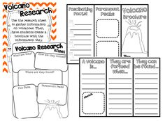 Check out the Volcano Info Brochure Foldable in this pack from Ginger Snaps: Science 4th Grade Science, Middle School Science, Science Fair, Science For Kids, Earth Science, Volcano Science Projects, Weather Unit, Student Teaching, Teaching Ideas