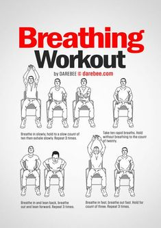 Breathing Helpful Strategies For yoga breathing exercises for beginners Yoga Routine, Workout Routine For Men, Desk Workout, Gym Workouts, At Home Workouts, Darbee Workout, Hamstring Workout, Workout Motivation, Motivation Quotes